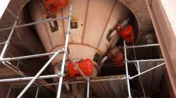 Martin® Silo Cleaning and Air Cannons Prevent Limestone from Clogging and Shutting Down the Silo