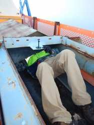 Safe Confined Space Entry  For Chutes, Silos and Hoppers