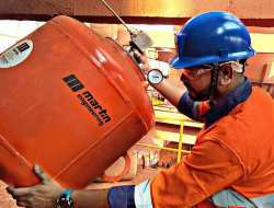 Martin® Typhoon Air Cannon reduced material buildups at Vedanta mines