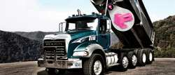 Martin Engineering has manufactured a special series of its Cougar® brand DC truck vibrators in the traditional pink color.